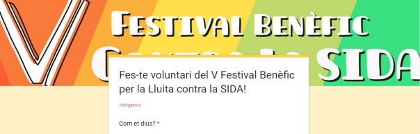 FormulariV_Festival SIDA